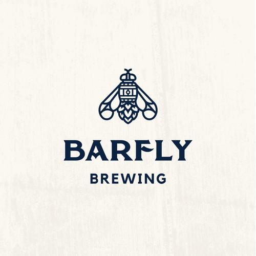 Barfly Logo For Barrel Aged Craft Beer