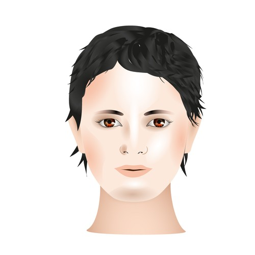 Design a Face for a Toy Doll!
