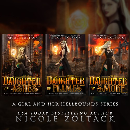 A Girl and Her Hellbound Series