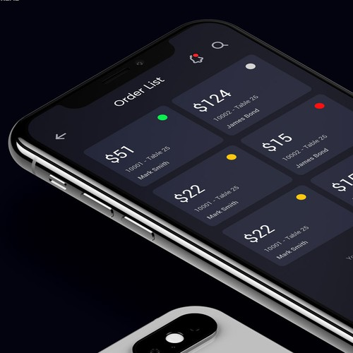 App Design -Dark Theme