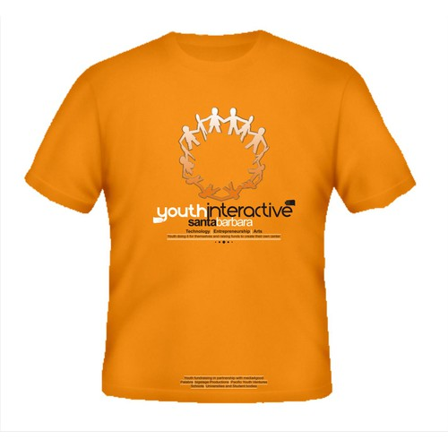 Design for good - New T-Shirt design wanted for Youth Interactive