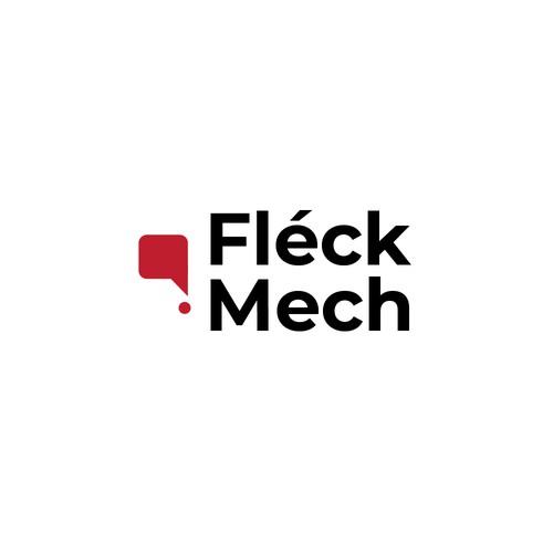 Fleck Mech Logo Design