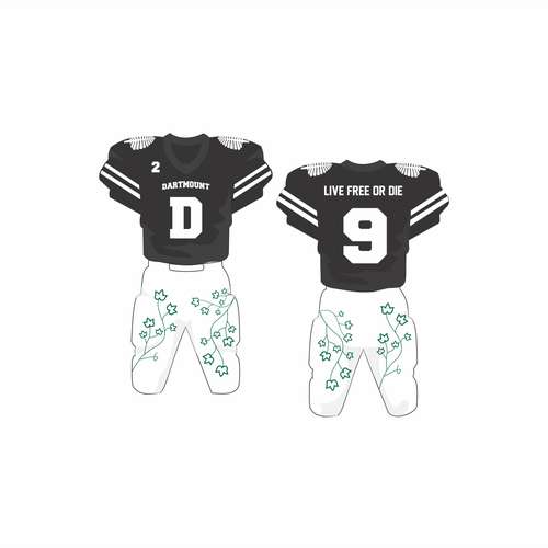 Dartmouth College's Future Football Uniforms