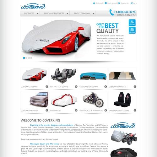 Clean Automotive Accessories Site