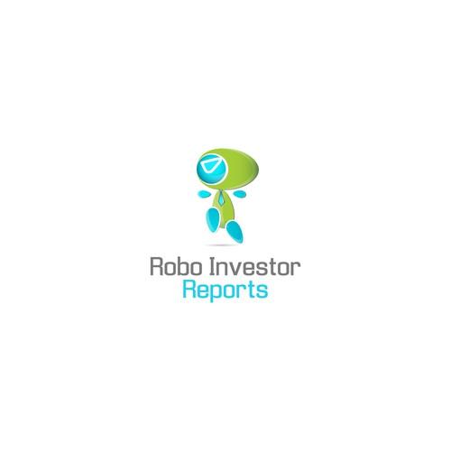 Logo for a high-tech finance company