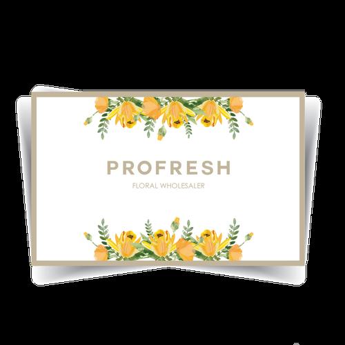Logo for floral wholesaler
