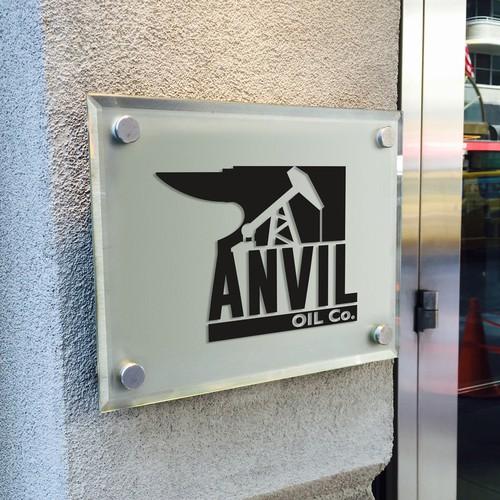 Logo design for Anvil Oil Co.