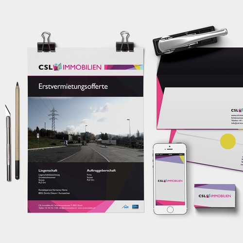 CSL Immobilien Stationeries and Offer Document