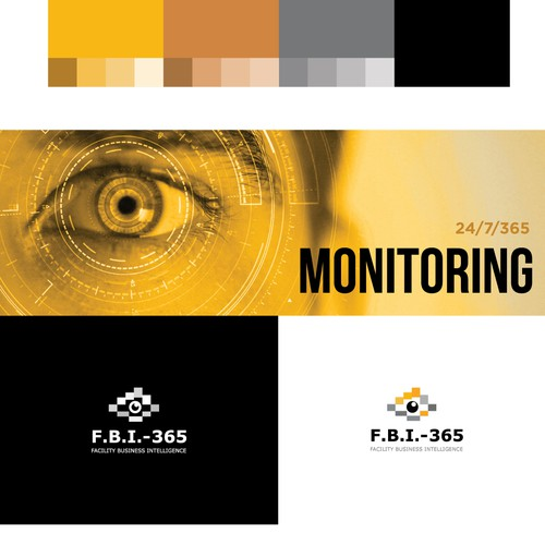 Bold logo concept for F.B.I 365