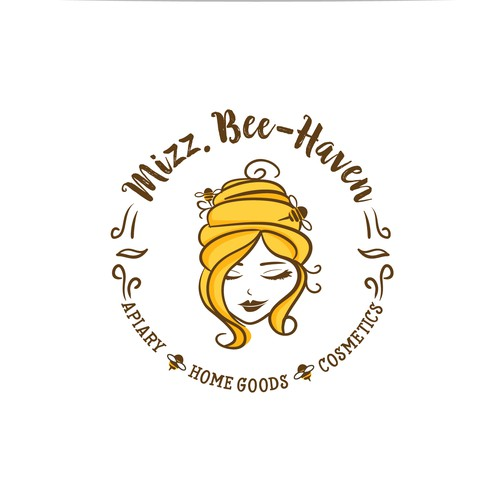 Handmade honey-bee products Logo
