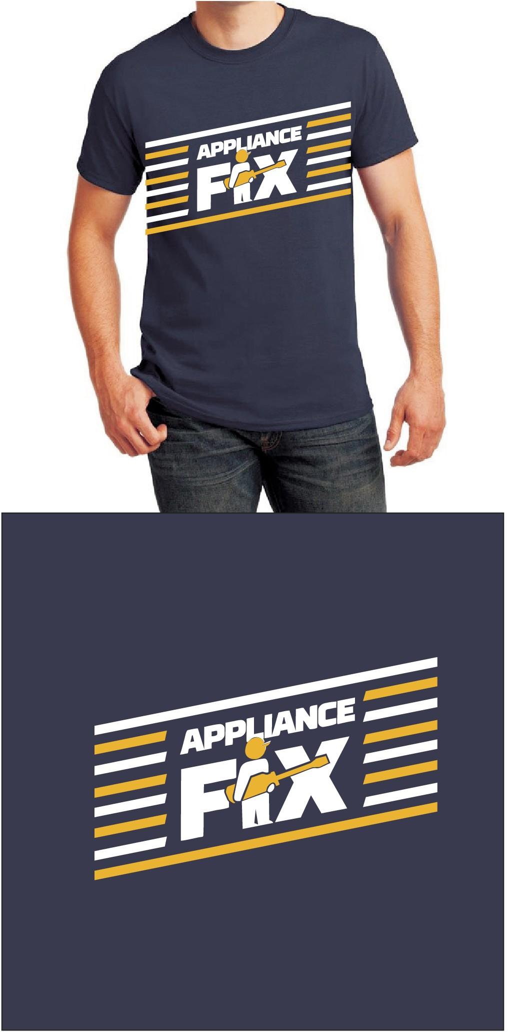 Appliance fix shirts