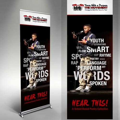 Spoken Word Art Program Banners