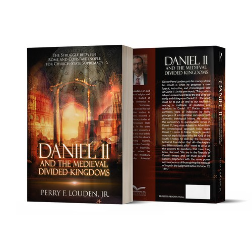 """Book Cover """"Daniel 11"""""""