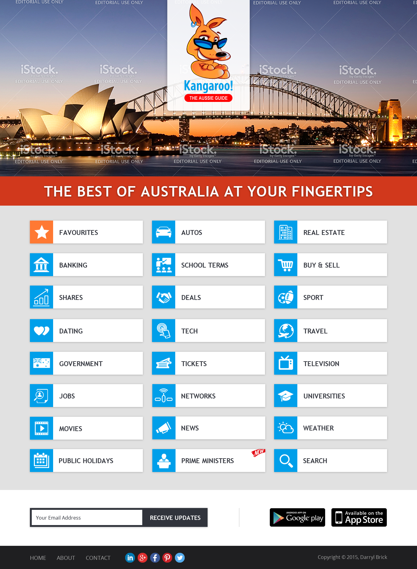 Kangaroo.com.au needs a facelift