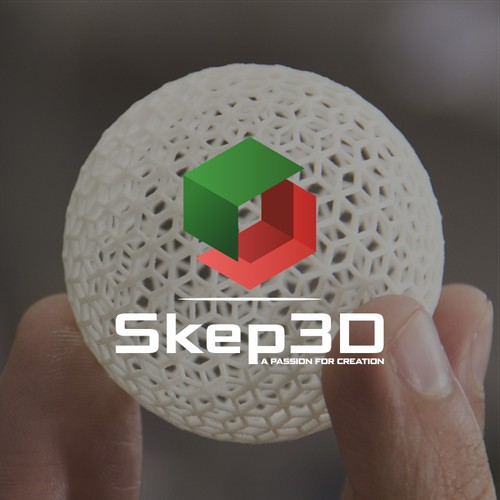 Logo for a 3D-printing company