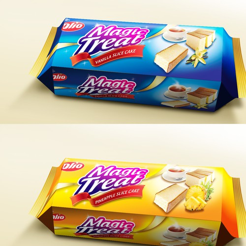 Packaging For Magic Treat
