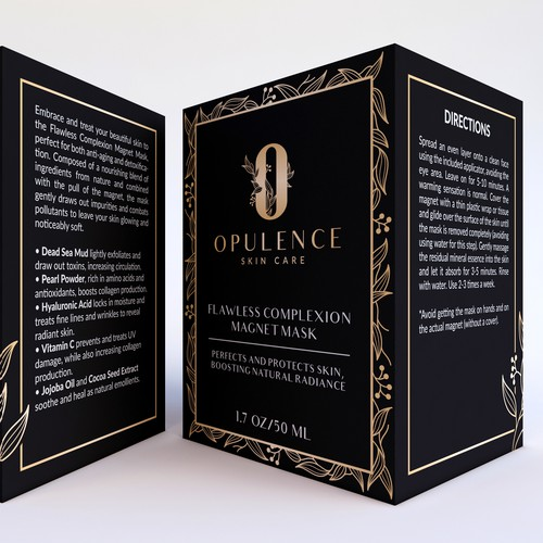 Opulence Skin Care Packaging Design