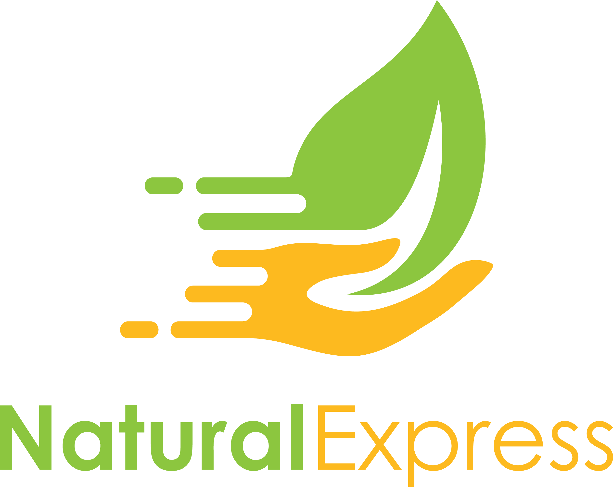 Create a lush logo for Natural Express!