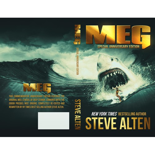 Book Cover - MEG  (subtitle:  Special Anniversary Edition)