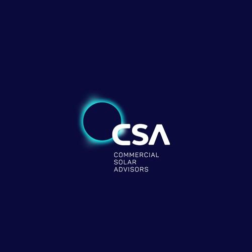 commercial solar advisors logo