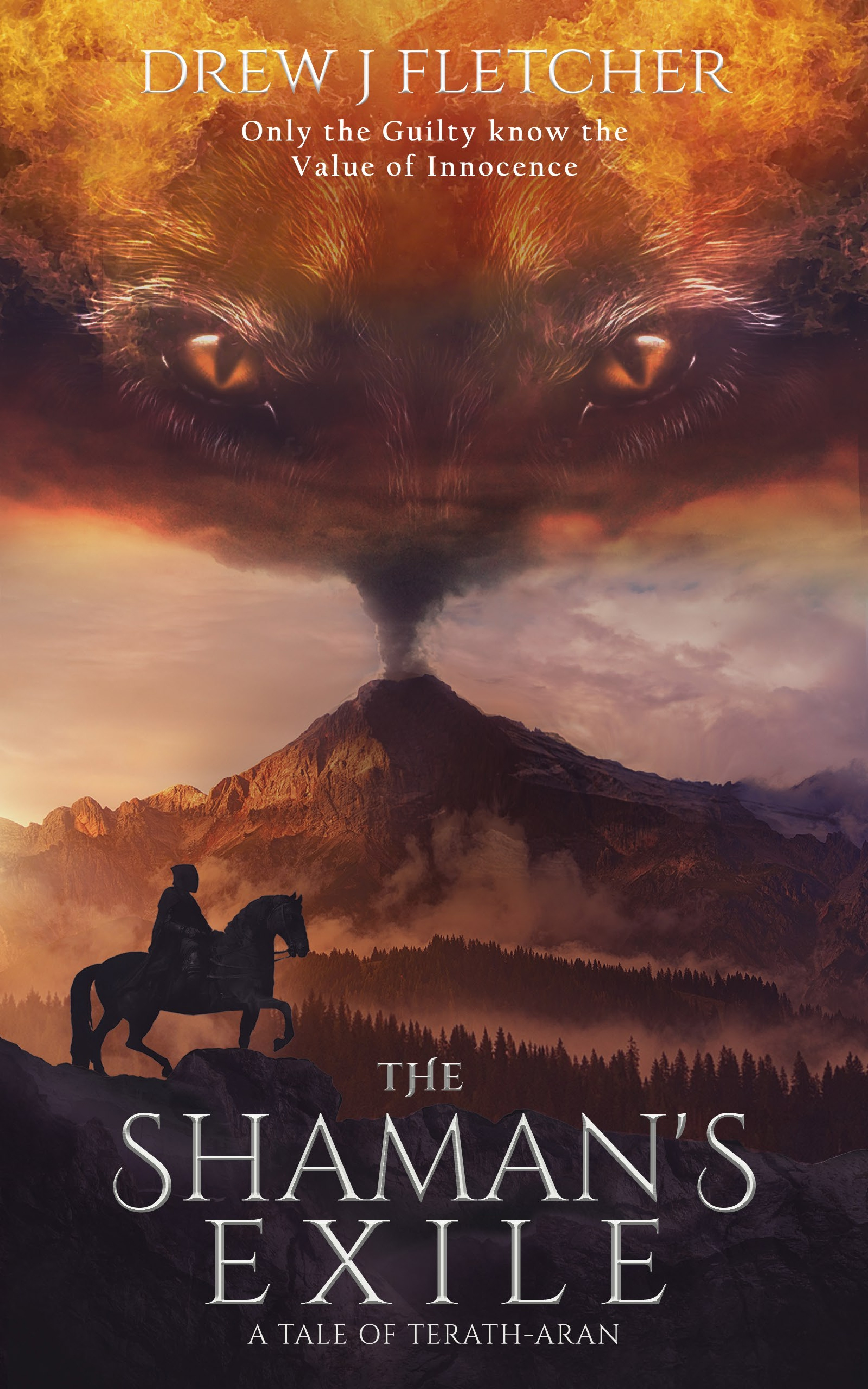 Design the cover for a debut Fantasy eBook