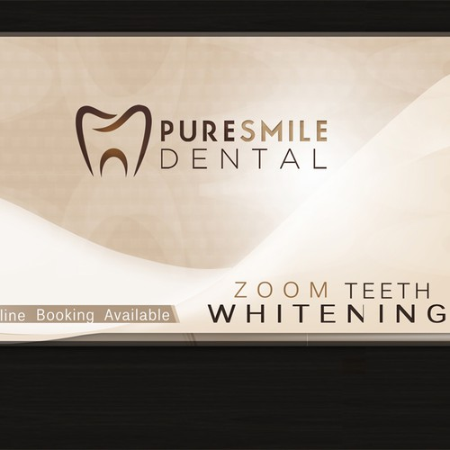 Neutral-toned Elegant Dental Postcard