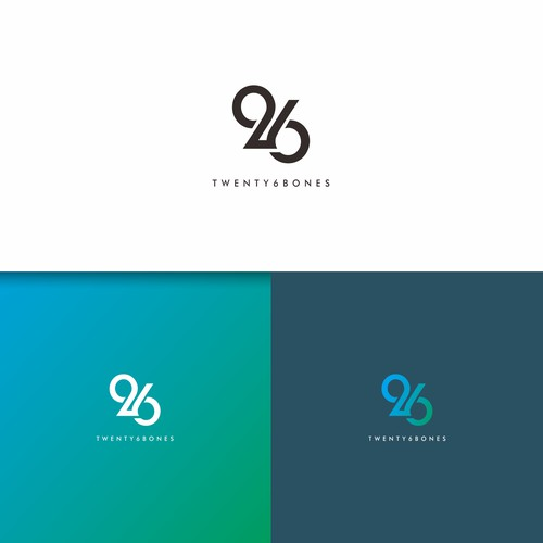 logo concept for twenty6bones