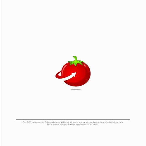 Bold Logo for 1tomato