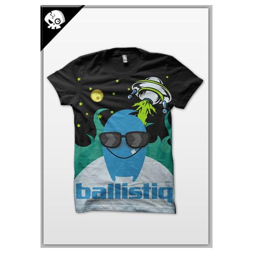 T-shirt designs for ballistic