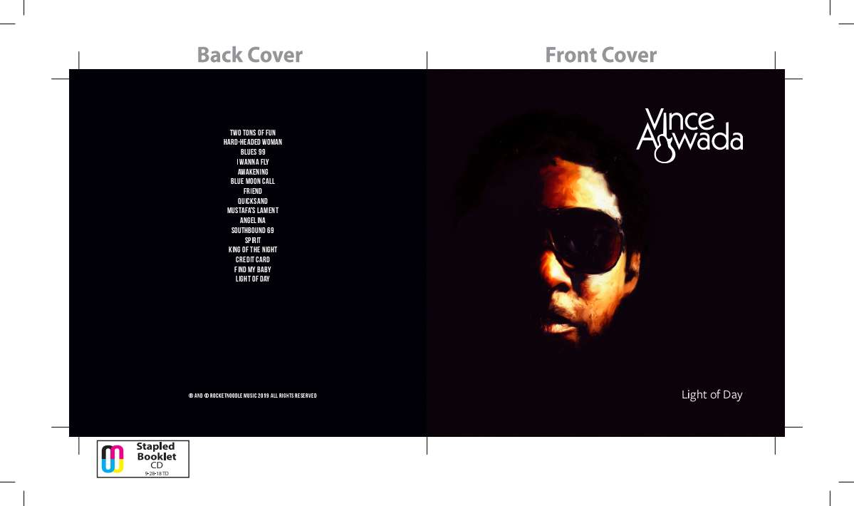 Vince Agwada's Third CD