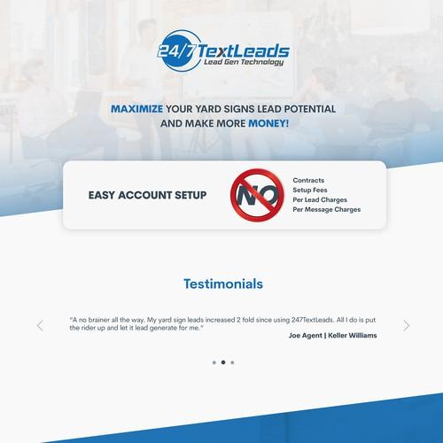 TextLeads Web Design