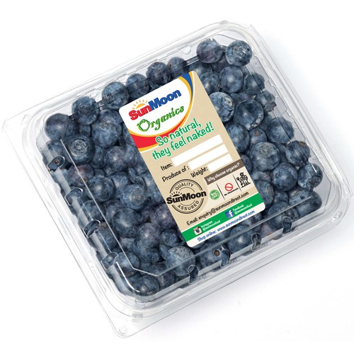 label for packed fruits