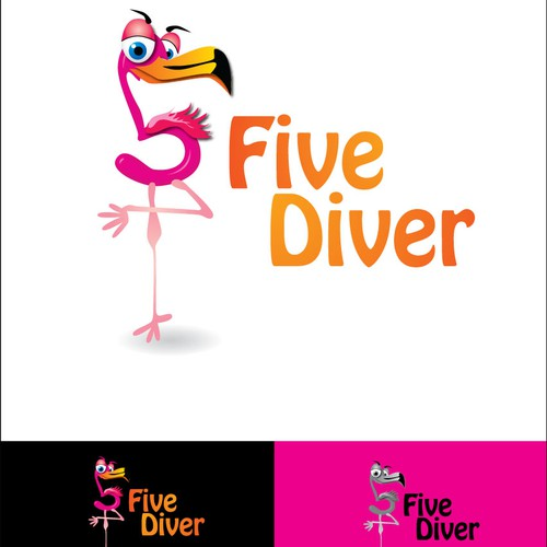 Help FiveDiver with a new Logo Design