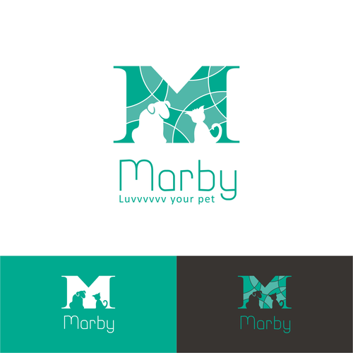 Logo for a pet business that has a concern to rescue animals