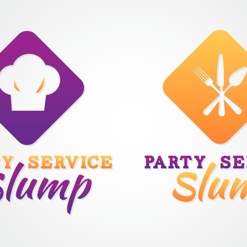 Create the next logo for Party service slump