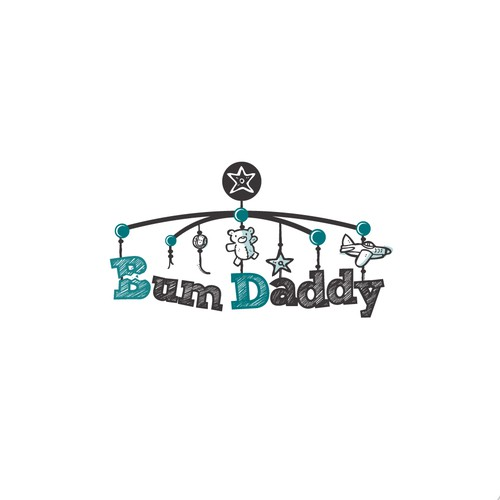 logo for Bum Daddy