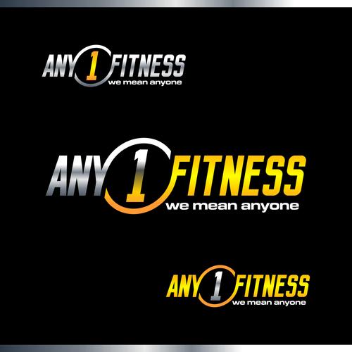 ANY1FITNESS Logo Designs