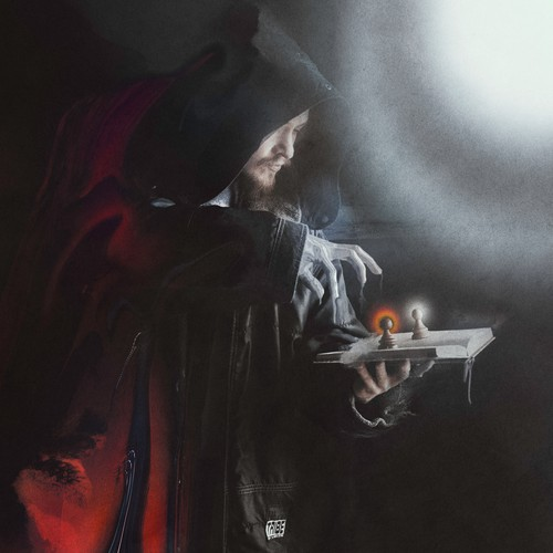 Metal album cover art