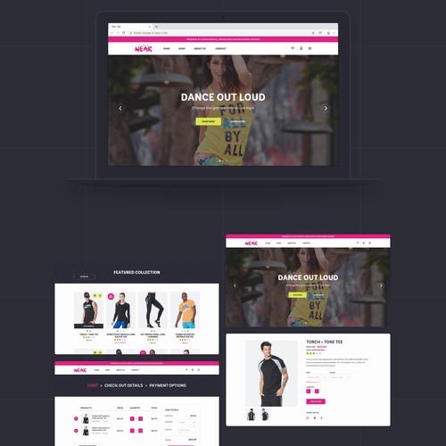 ZWear Ecommerce Website