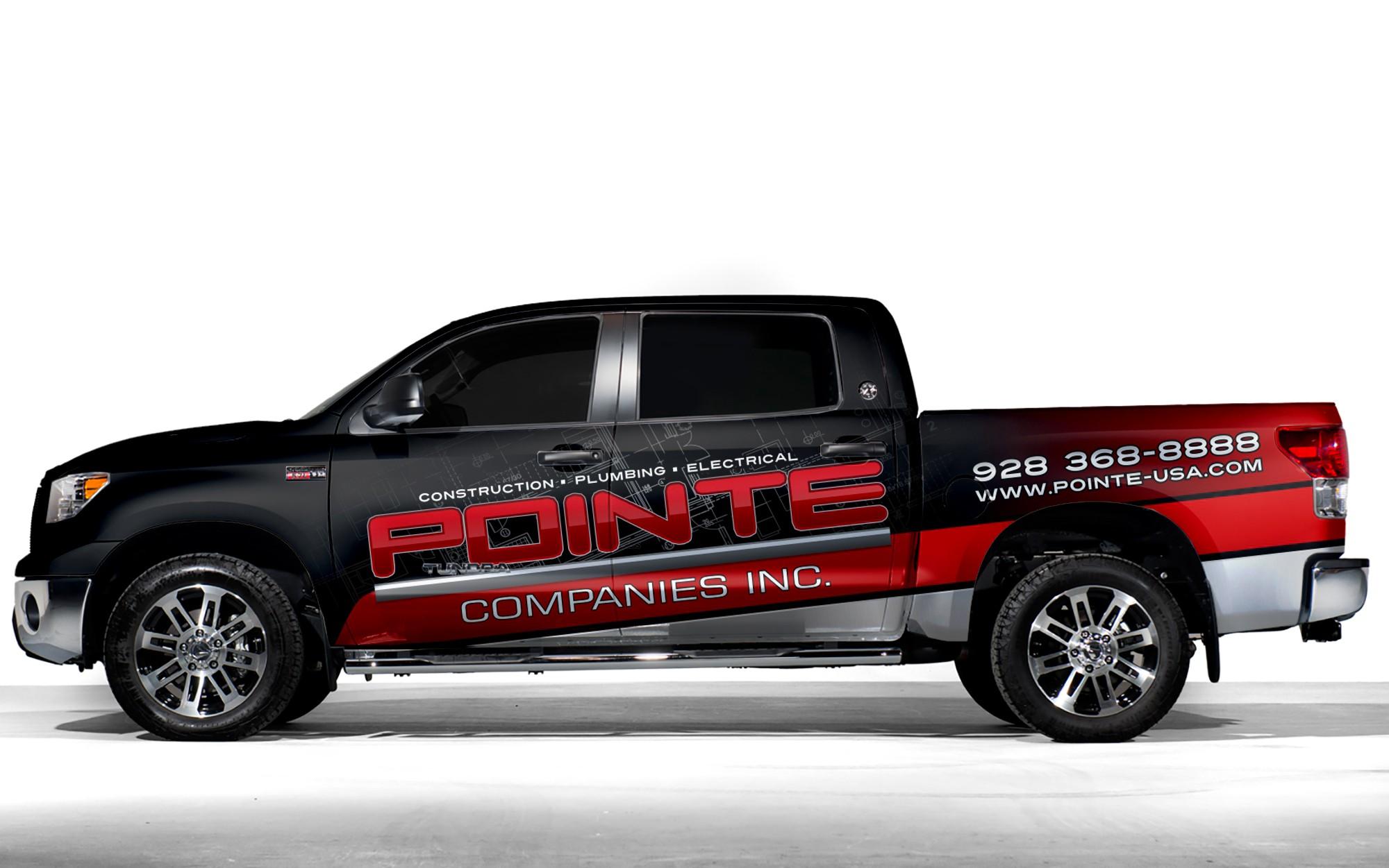 Pointe Companies Truck Wrap