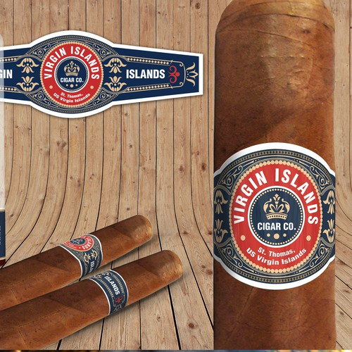 Cigar Brand Label