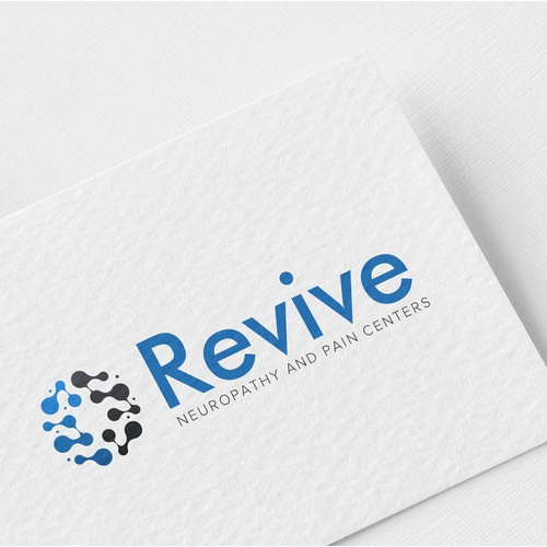 Revive neuropathy & pain Centers Logo Design