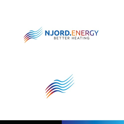 Abstract logo for Njord Energy
