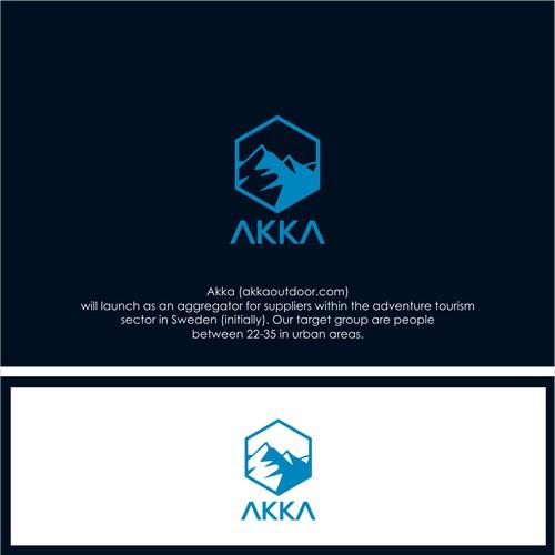 Logo Concept For AKKA outdoor