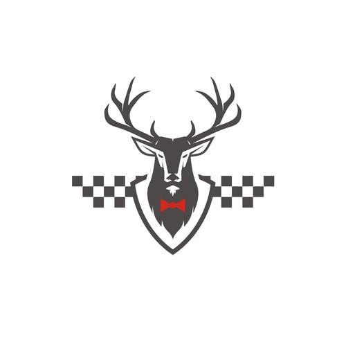 Mascot for a Winning Car Racing Team