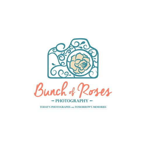 Logo for Bunch of Roses Photography