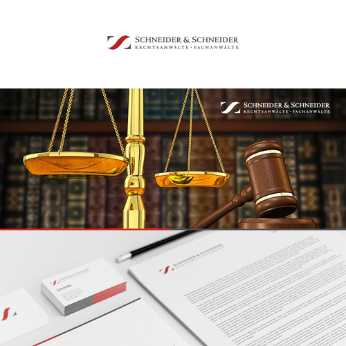 Logodesign for specialized German law firm Schneider & Schneider