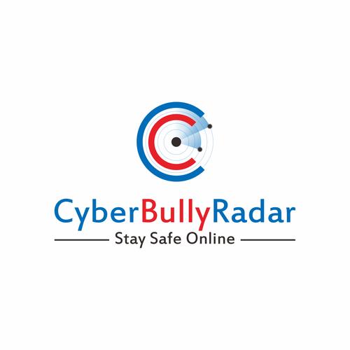 Create a simple, clear logo for Cyber Bully Radar.com
