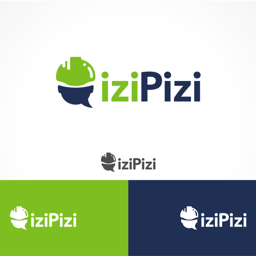 Create a logo for our dynamic startup iziPizi!