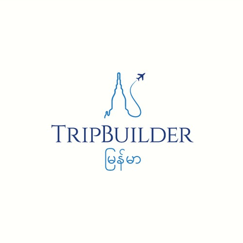 Logo for TripBuilder Myanmar
